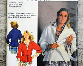 Burda 9621 - (Vintage) jacket sewing pattern