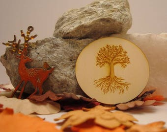 Tree of life 1981 embellishment wooden creations