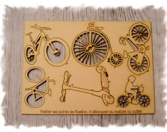 Bike p6 for creating your wooden cutting board