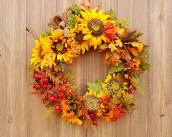 w0017 - Sunflower Display - Size: 21 inches