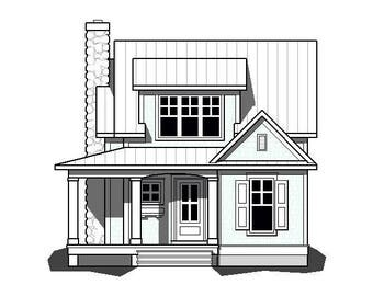 Rosewood Cottage Plan