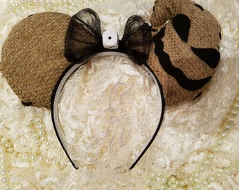 Oogie Boogie Inspired Disney Ear Headband