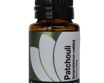 Organic Patchouli Essential Oil 5ml, 15ml, or Buy Both & Save!
