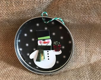 Mason jar christmas ornament