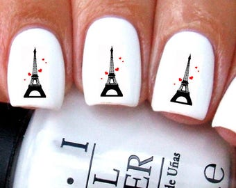 Paris Nail Decals
