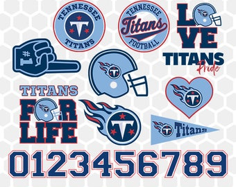 Tennessee Titans SVG, Tennessee Titans Files, Instant Download Football Files, Cricut, Cameo, Vinyl Machine, DXF EPS png jpg pdf - 021