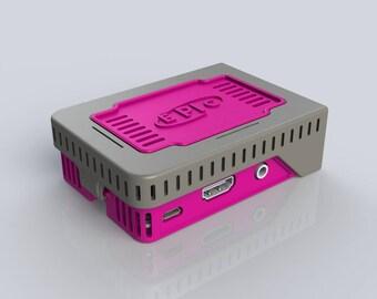ePIc PI SnapPI flip open raspberry pi case