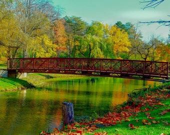 Fall over the bridge