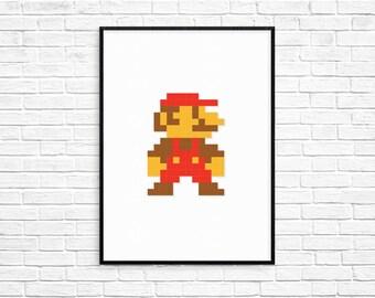 Retro Gaming Character Series | 8-Bit | Retro Print | Digital Print | Pixel Art