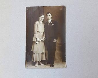 Vintage 1931 Bulgarian wedding photography