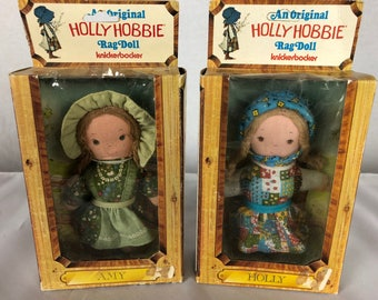 Holly Hobbie dolls- Amy and Holly