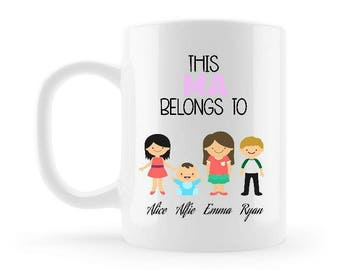 This Ma Belongs to Mug
