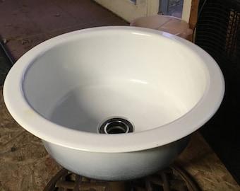 Vintage Porcelain Sink