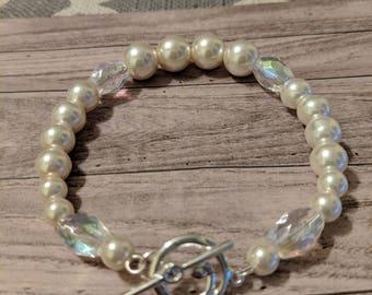 Light Pink Wire Bracelet
