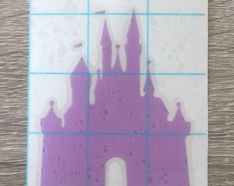 Castle Vinyl Decal