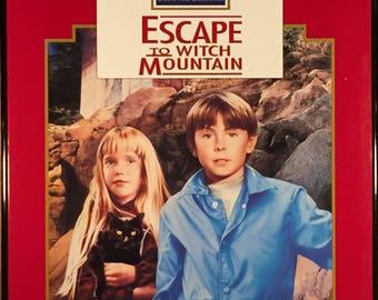 Framed Disney Movie Artwork - Escape To Witch Mountain