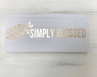 Blessed Letters Etsy