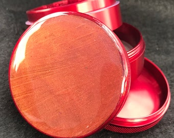 Ruby Red Grinder 63mm (almost 2.5in)