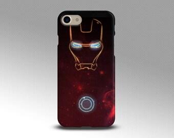 Iron man case Samsung S8 case Galaxy Note 8 case Iphone 7 plus case Iron man Iphone 8 case Silicone cover Google pixel case Galaxy S6 case