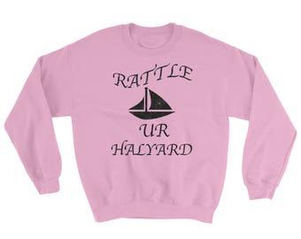 Rattle Ur Halyard Spartees distressed cotton/poly Sweatshirt