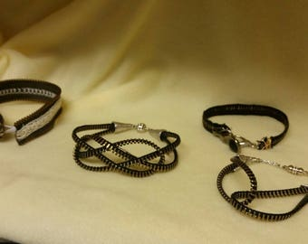 Zipper Bracelet Collection (each sold separately)