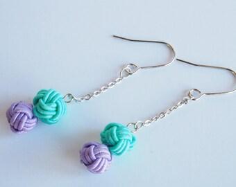 Mizuhiki TAMA earrings