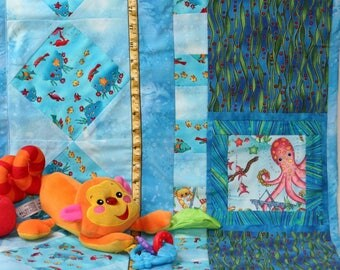 Growth Chart Pirates Mermaids and Octopus