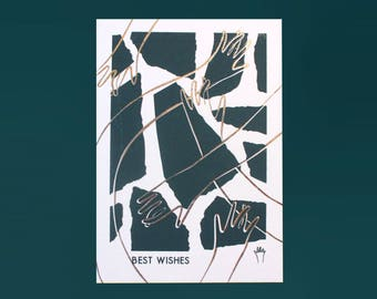 "Carte de voeux 2018 ""Best Wishes"""