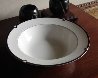 Mikasa Midnight Round Vegetable or Serving Bowl