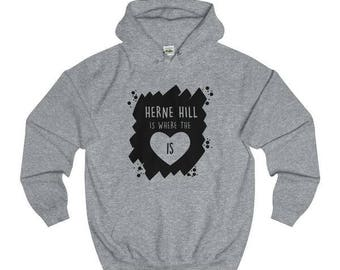 Herne Hill Is Where The Heart Is T-Shirts/Sweaters/Hoodies