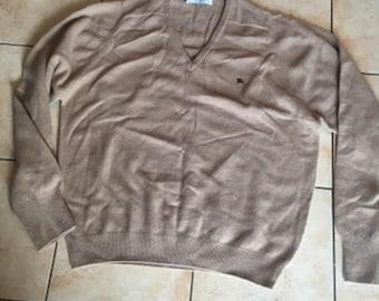 Vintage Burberry Lambswool Sweater  Long Sleeve