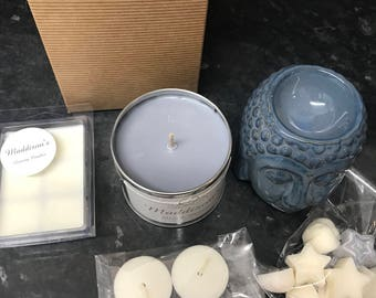 Soy Wax burner and candle set
