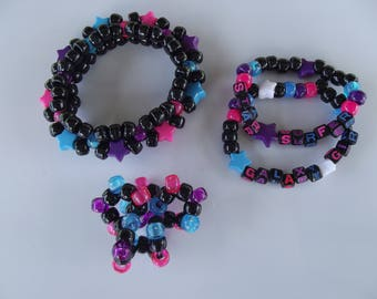 Galaxy Kandi Bracelet Set