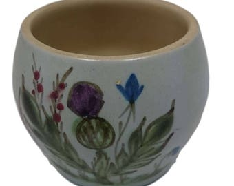 Thisleware Sugar Bowl with Cream Inner from Buchan Pottery