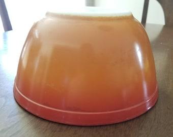Pyrex Flameglo Bowl 402