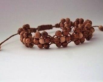 Shambala adjustable bracelet,Rope bracelet,Women bracelet,Macrame boho bracelet,Handmade jewelry,Knot bracelet,Yoga bracelet,Vegan friendly