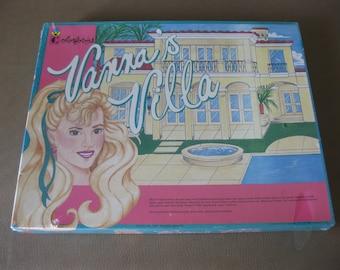 Vanna White Wheel of Fortune Vanna's Villa Mattel Colorforms 1992 SEALED