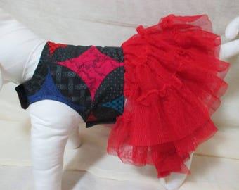 Small 3 tier Ruffle dress