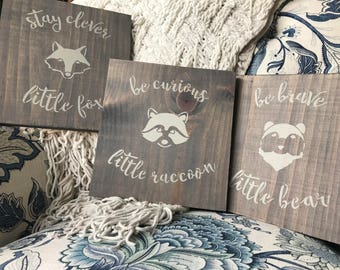 Farmhouse Nursery Bundle-3 Signs Included