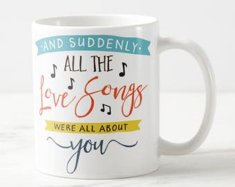 Romantic Mug #8 - Love Quote Mug - Love Mug - Quote Mug -Coffee Mug - For Her - For Him -Valentine Mug -Valentine Gift -Love Gift - Cute Mug