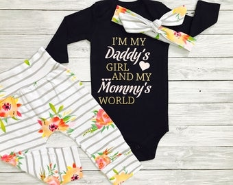 Newborn Girl Take Home Outfit, Baby Girl Outfit, Baby Shower Gift, Baby Gift, Newborn Girl Outfit, Baby Take Home, Newborn Take Home