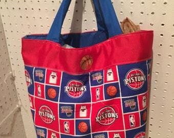 Detroit Pistons purse:tote