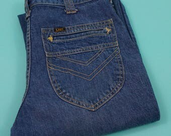 Vintage Union Made 70s Lee Flare Jeans