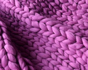 Ohhio 39 S Grande Punto Blanket Chunky Blanket Merino Wool