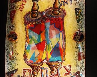Pwdr Blue Torah