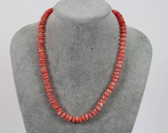 Necklace Angel skin coral