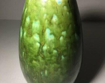 """Mid Century Modern Vase 10"""" 1967"""