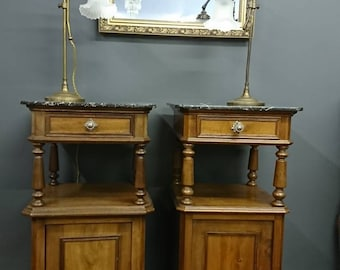 Antique French Bedside cabinets