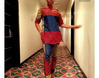 African women wear/ Embroidery wear/ African clothing/ African fashion