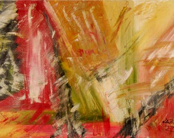 """Abstract painting box """"winds"""""""
